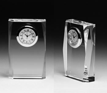 クリスタル時計(1・セイコークロック社製) 角型