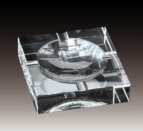 ガラス製 灰皿(正方形)