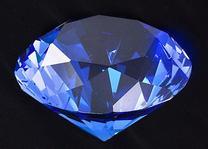 クリスタルダイヤ(ブルー)