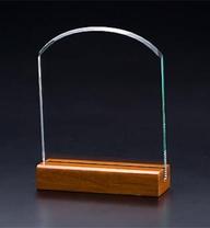 ガラス盾アーチL